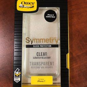 Otter box symmetry clear sparkle case